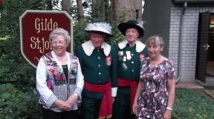 50 jaar schutter Adri Staaltjens en Piet Adriaanssen 2014