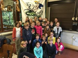 Bezoek groep 6 basisschool Rijsbergen